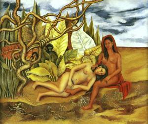 [deux+nus+dans+la+fôret+ou+la+terre+elle-même+ou+ma+nourrice+et+moi+1939,+frida+kahlo.jpg]